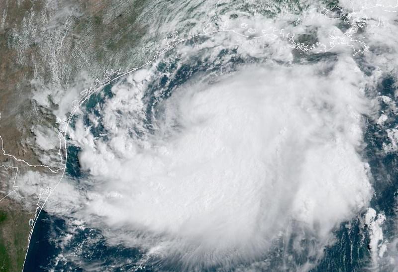 Hanna satellite image