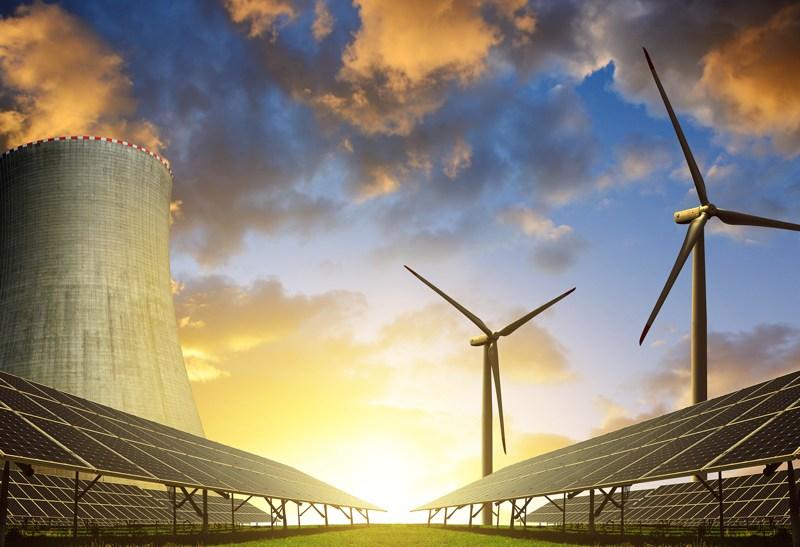 Nuclear - solar - wind