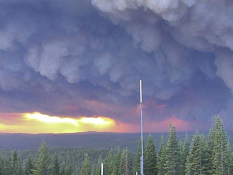North Complex Fire