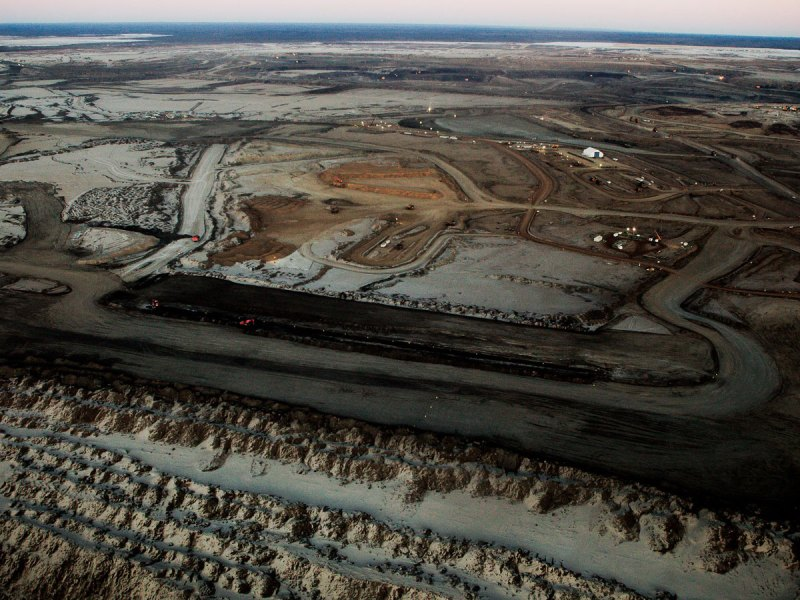 Oil sands photo