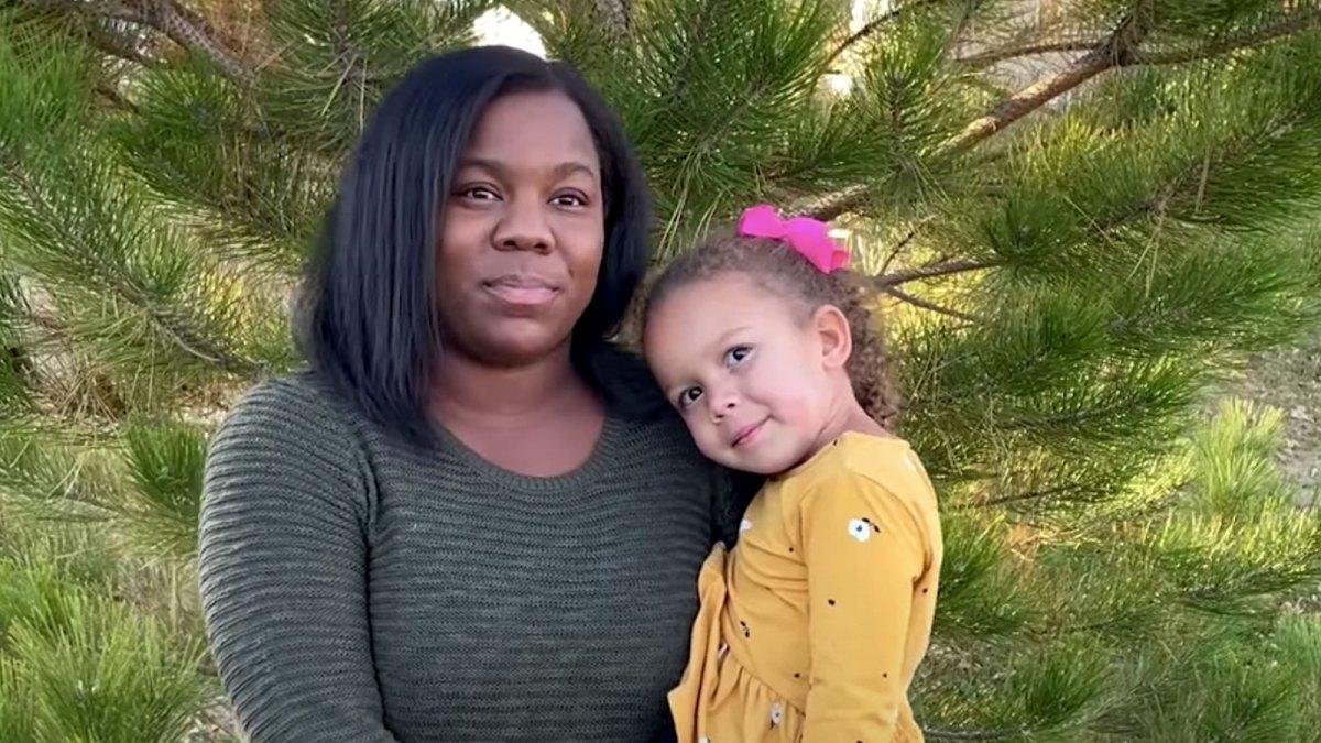 Melissa Burt and daughter