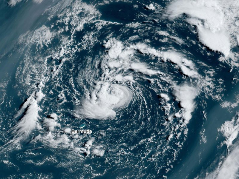 Satellite image of STS Ana