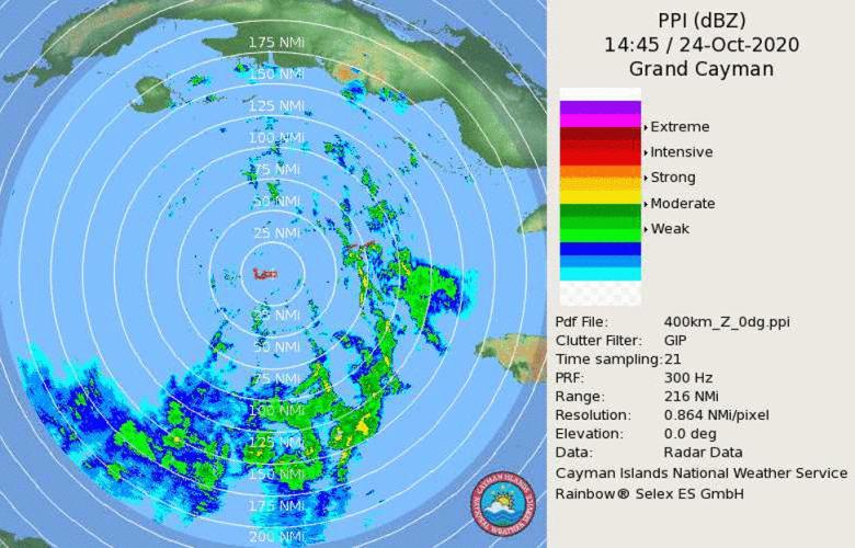 95L radar image