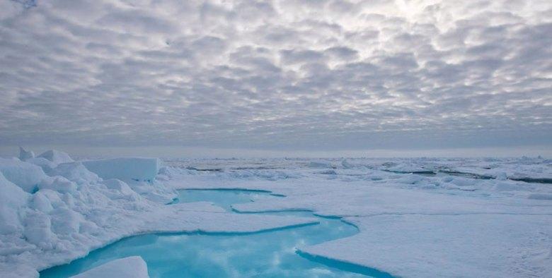 Arctic ice clouds