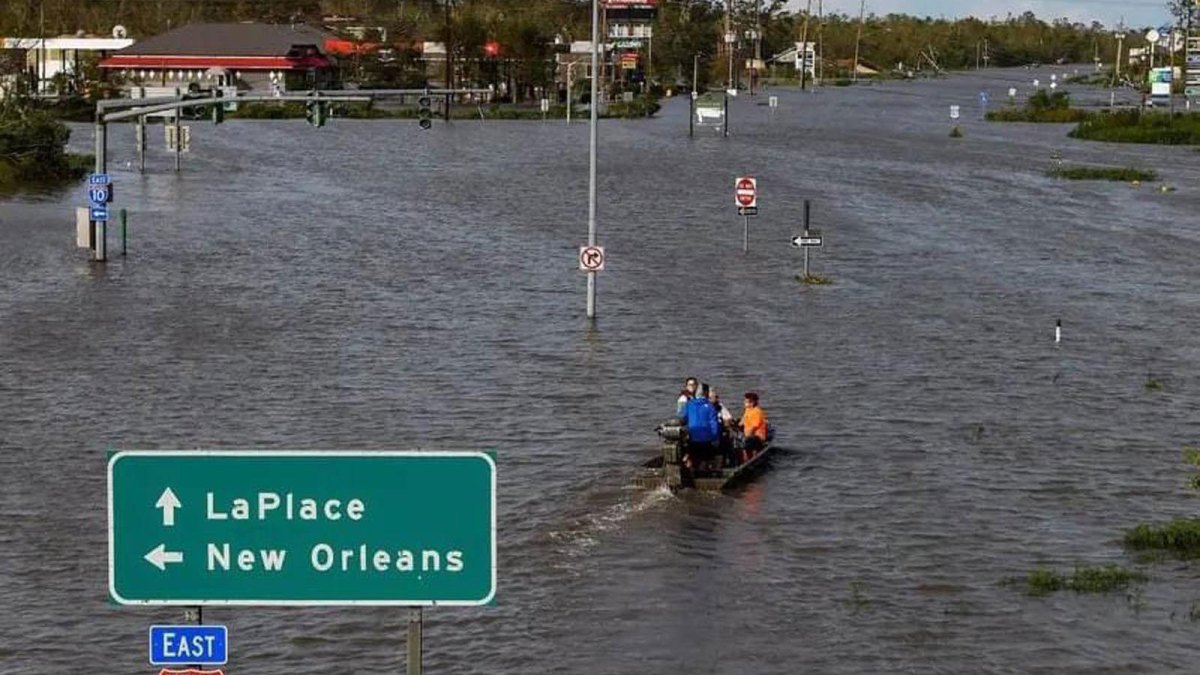 New Orleans flooding