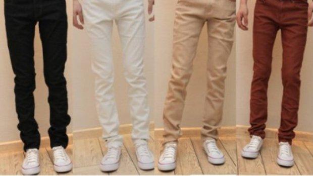 Мужские брюки зауженные
