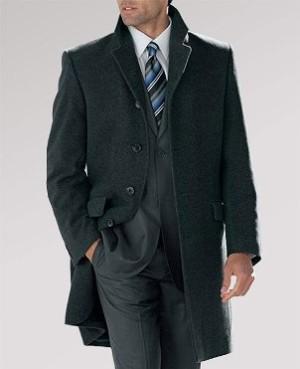 Мужское весеннее пальто честерфилд