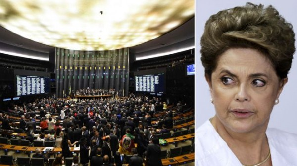 Brazil divided ahead of historic Rousseff impeachment vote