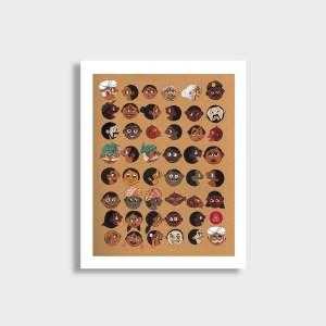 Gossips Art Print