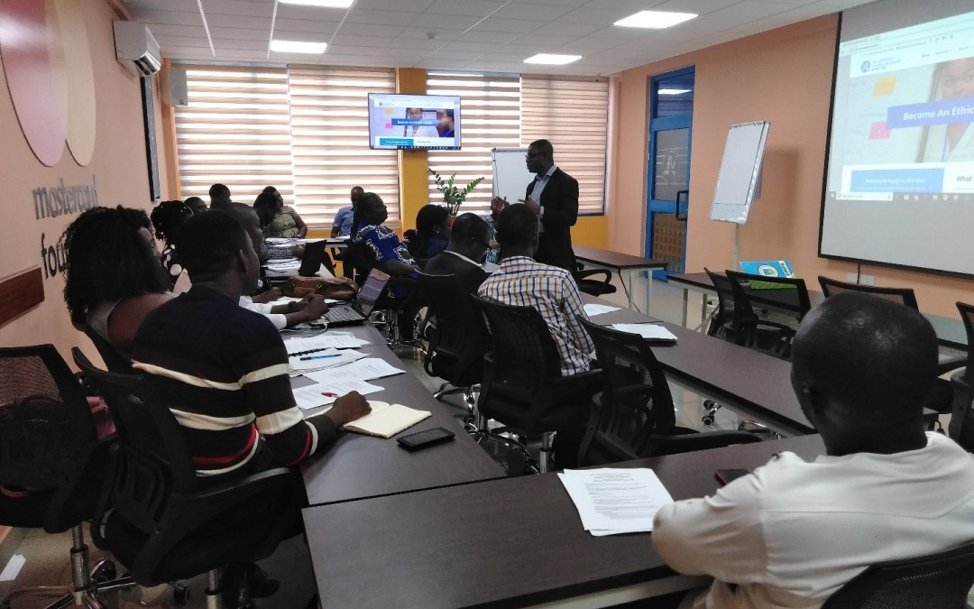 YALI RLC Trains Cohorts 11 & 12 External Assessors