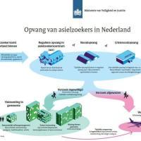 عملية استقبال اللاجئين في هولندا