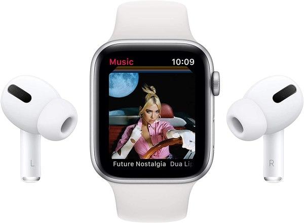 Apple Watch Series 6 4G 44MM Stainless Steel Graphite-yallagoom.com.qa