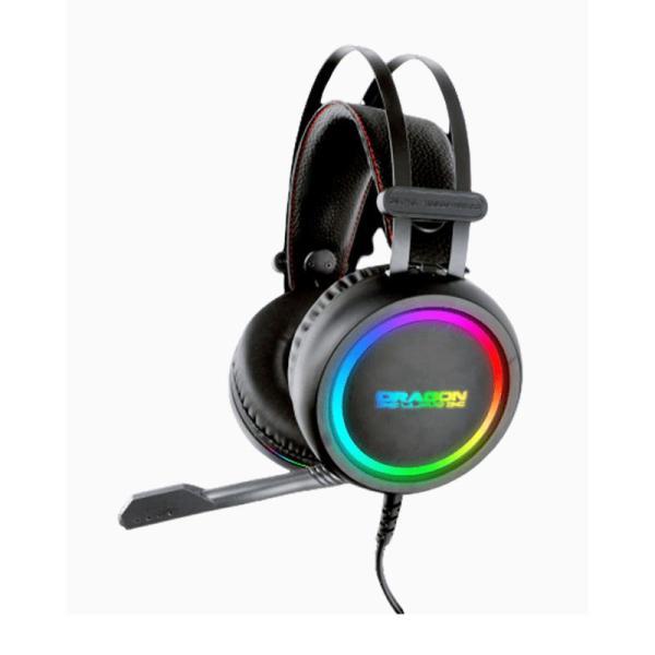 Dragon War RGB Lighting effect Gaming Headset G-HS-012 - www.yallagoom.com.qa
