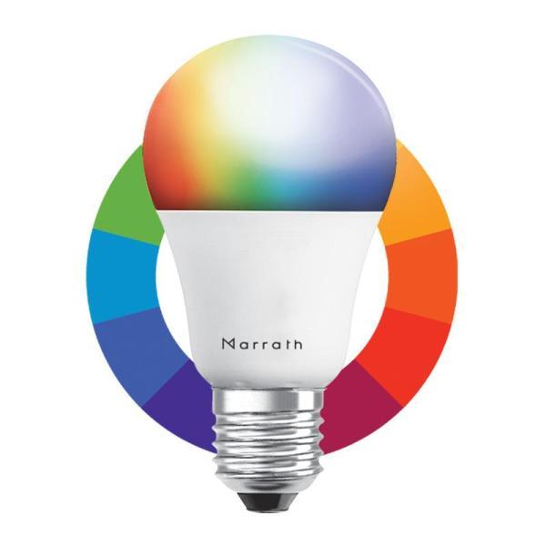 Marrath Smart Wi-Fi Multi Color RGBW Bulb MSHLA002 - www.yallagoom.com.qa