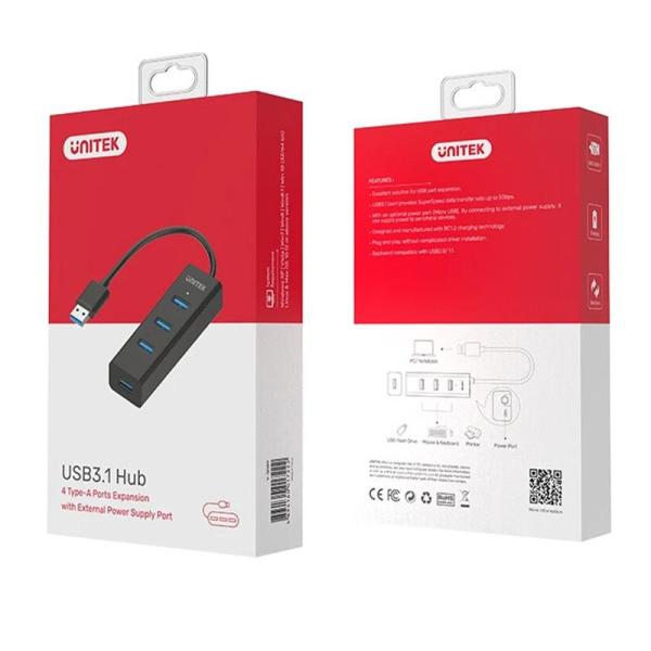 Unitek USB3.0 4-Port Hub - www.yallagoom.com.qa