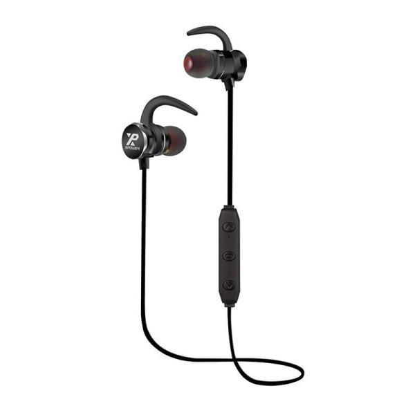 Xpower CON6 Connection Bluetooth Sport Headphone - Black-Yallagoom.com.qa