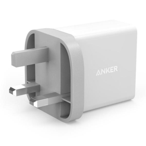 ANKER 24W 2-PORT  USB CHARGING ADAPTOR-Yallagoom.com.qa