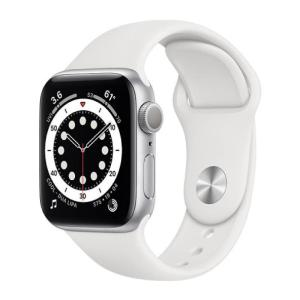 Apple Watch Series 6 GPS 44MM Sport Band White - M00D3-yallagoom.com.qa