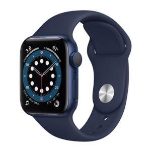 Apple Watch Series 6 GPS 40MM Sport Band Deep Navy - MG143-yallagoom.com.qa