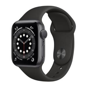 Apple Watch Series 6 GPS 40MM Sport Band Black - MG133-yallagoom.com.qa