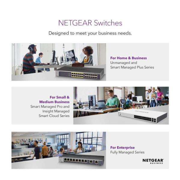 Netgear Networking Switch 8-Port Gigabit Ethernet Smart Managed Plus Switch-yallagoom.com.qa