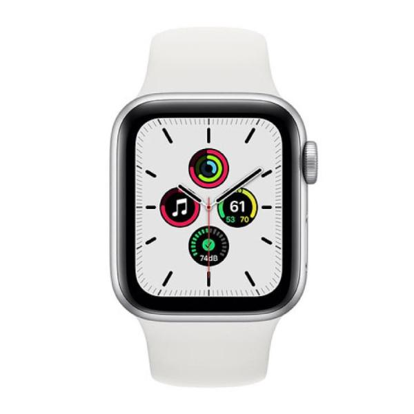 Apple Watch Series SE 40MM Sport Silver - MYDM2-yallagoom.com.qa