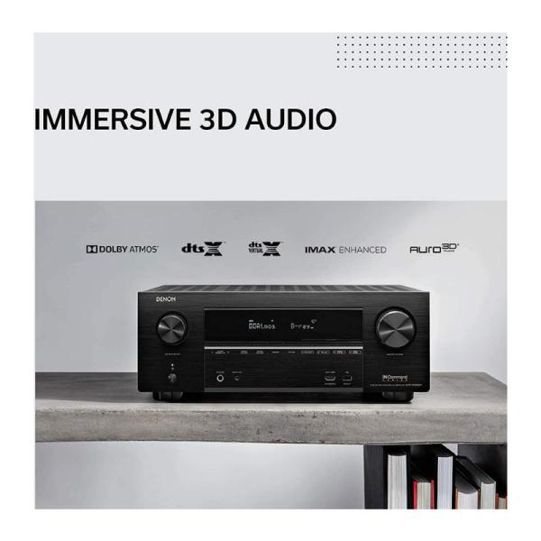 Denon AVR-X3600H-9.2ch 4K AV Receiver with 3D Audio and HEOS Built-in-Yallagoom.com.qa