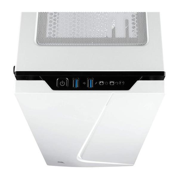 CORSAIR CARBIDE SPEC-06 WHITE AND BLACK CASE-yallagoom.com.qa
