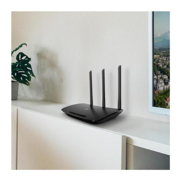 TP-Link TL-WR940N 450Mbps Wireless and Router - Black-yallagoom.com.qa