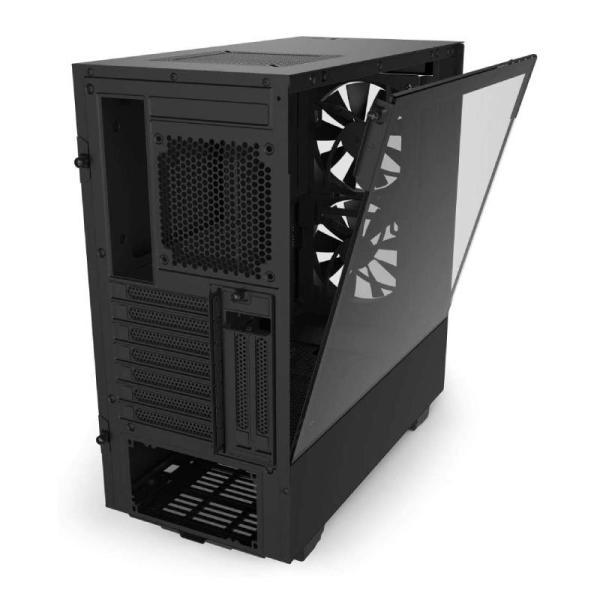NZXT H510 ELITE COMPACT MT CASE BLACK-yallagoom.com.qa