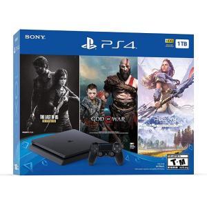 PS4 SLIM 1TB + 3 GAMES USA BUNDLE-yallagoom.com.qa