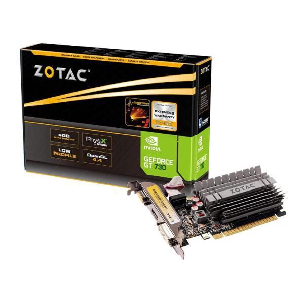 ZOTAC GEFORCE GT730 – 4GB GRAPHICS  CARD-yallagoom.com.qa