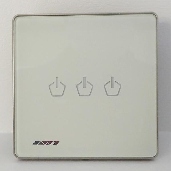 Savvy Smart Switch - 3 Gang ,Live Line (SW2-3L)-yallagoom.com.qa