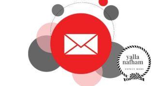 التسويق عبر البريد الالكتروني بعد فلترة القائمة البريدية .