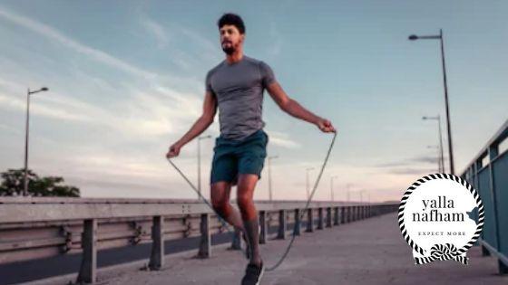 القفز بالحبل من افضل تمارين الكارديو لحرق الدهون