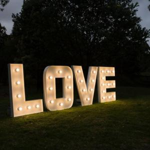 Lighting & Love Letters