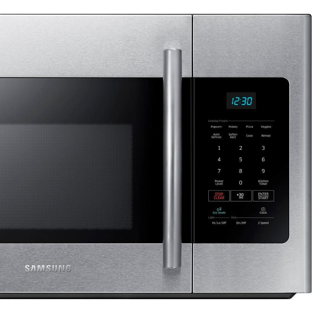 Samsung 30 in w 16 cu ft over the range microwave in