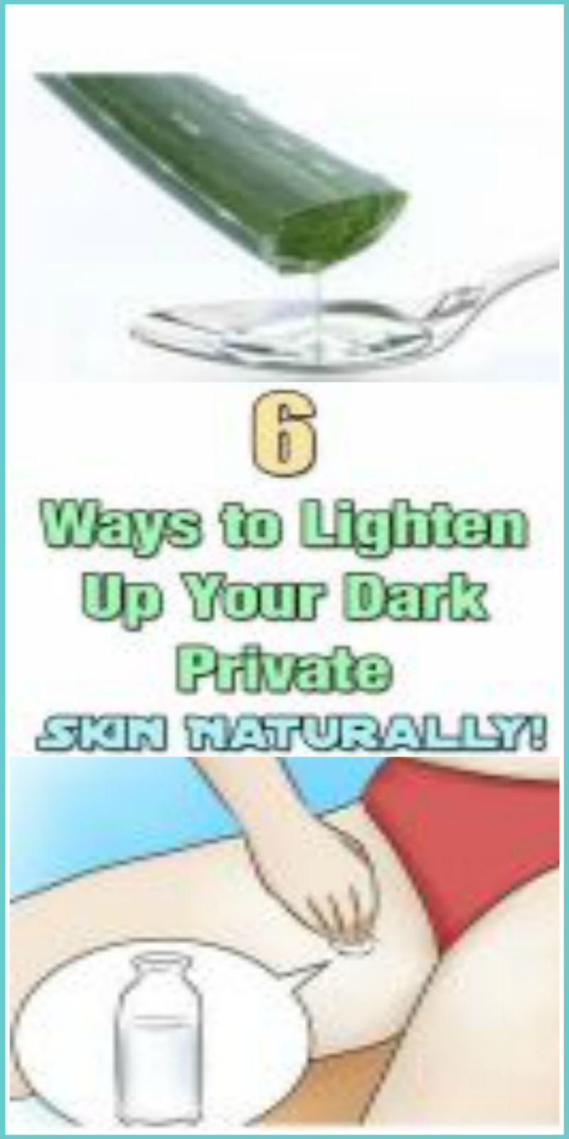 how to lighten your private area fast reddit