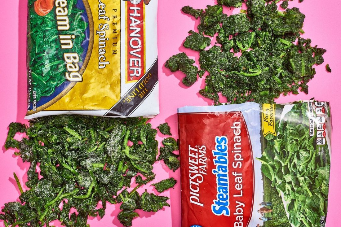 how to freeze fresh spinach for soup
