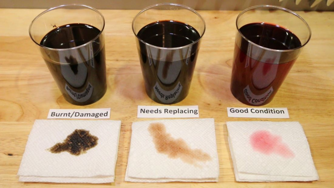 Changing your automatic transmission fluid can leave you