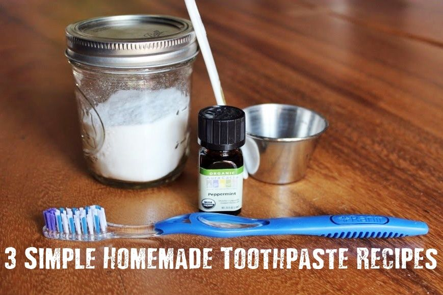 how to make easy toothpaste
