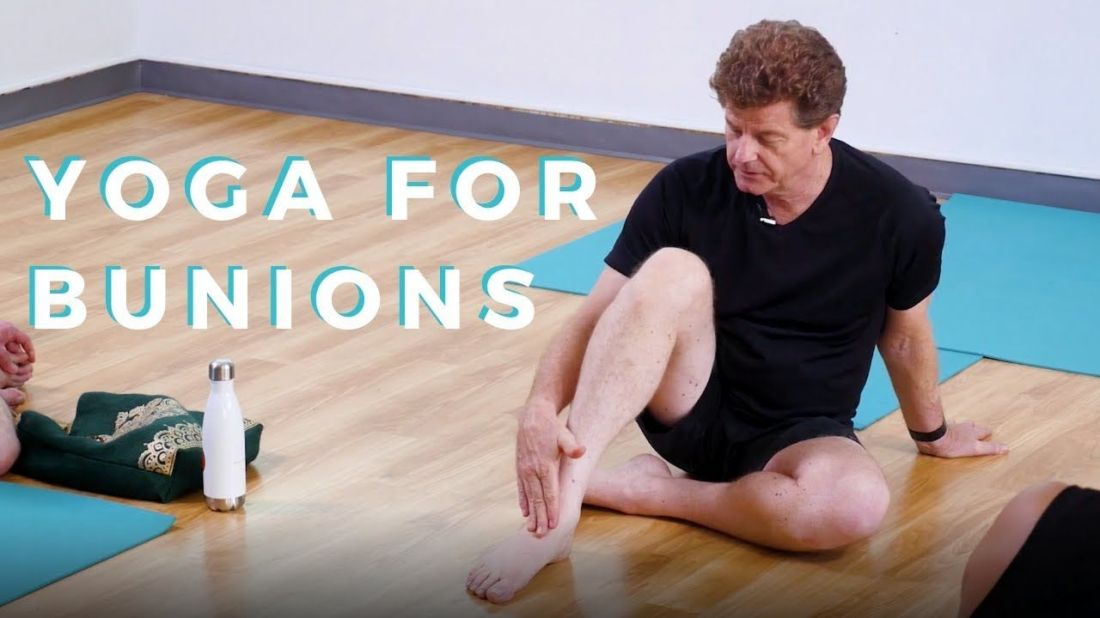 How to prevent bunions from getting worse yoga for