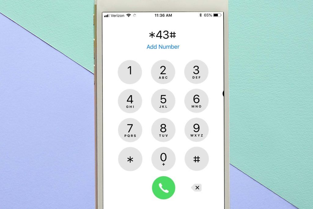 how to untap your phone code