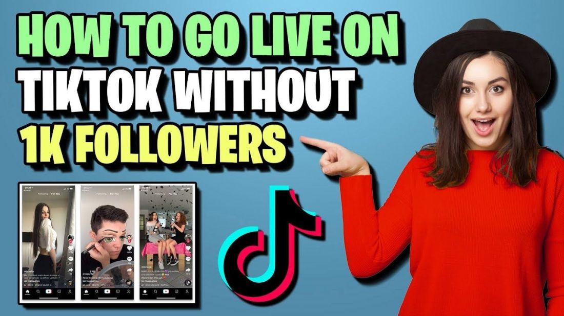 How to go live on tiktok 2020 without 1k followers in
