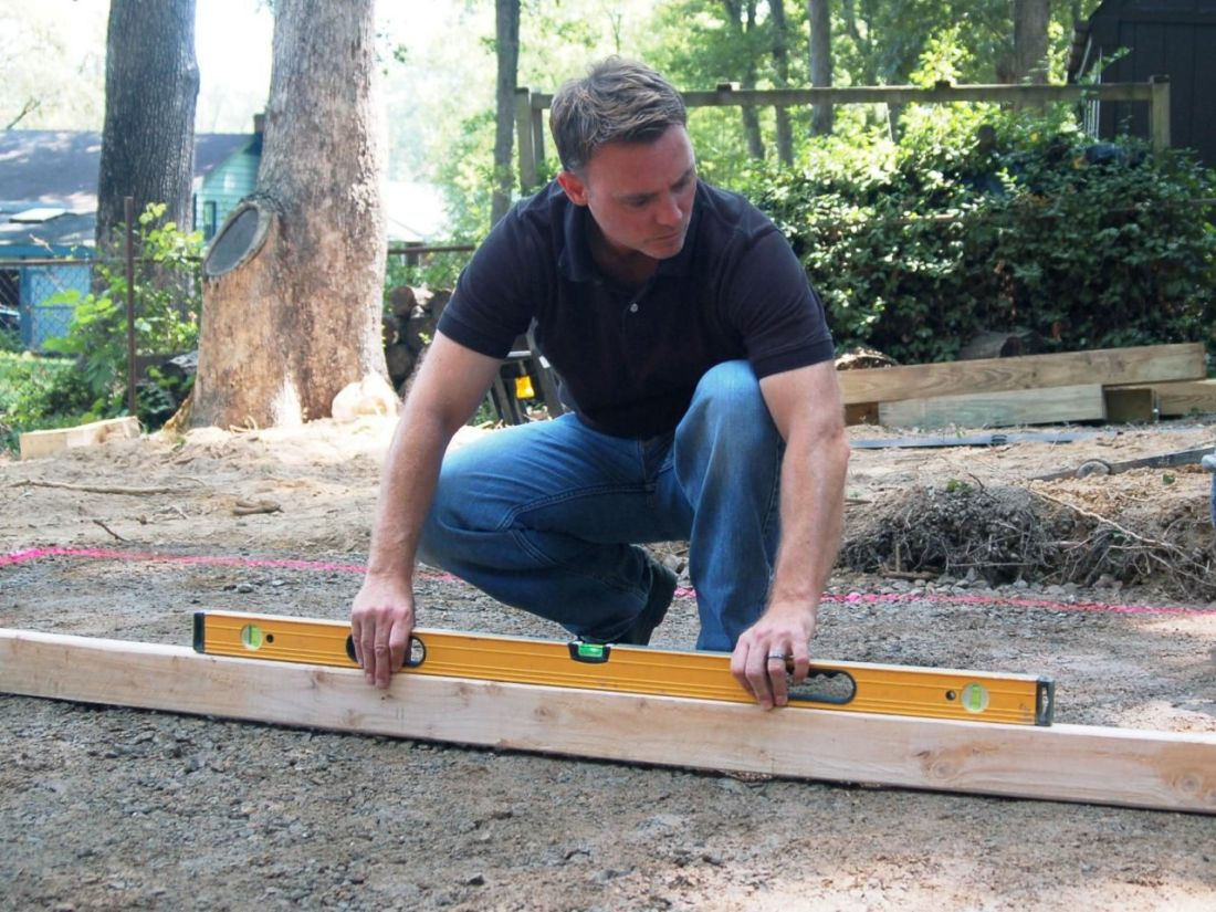 How to lay a paver patio how to level