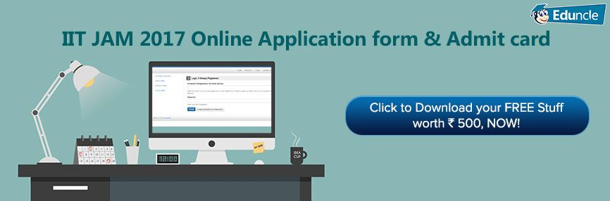 Iit jam admit cards 2021 with images online