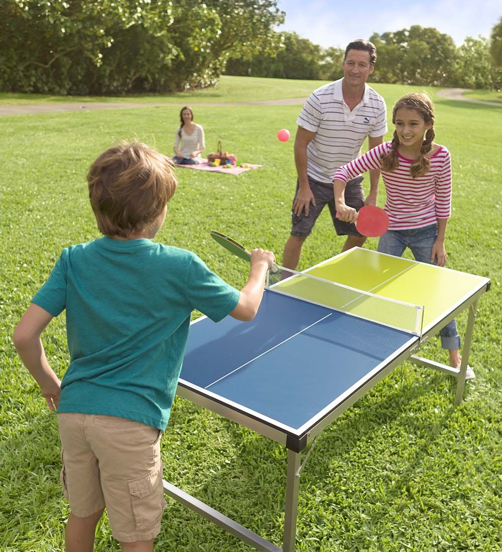 Pickupandgo pingpong table in outdoor play toys