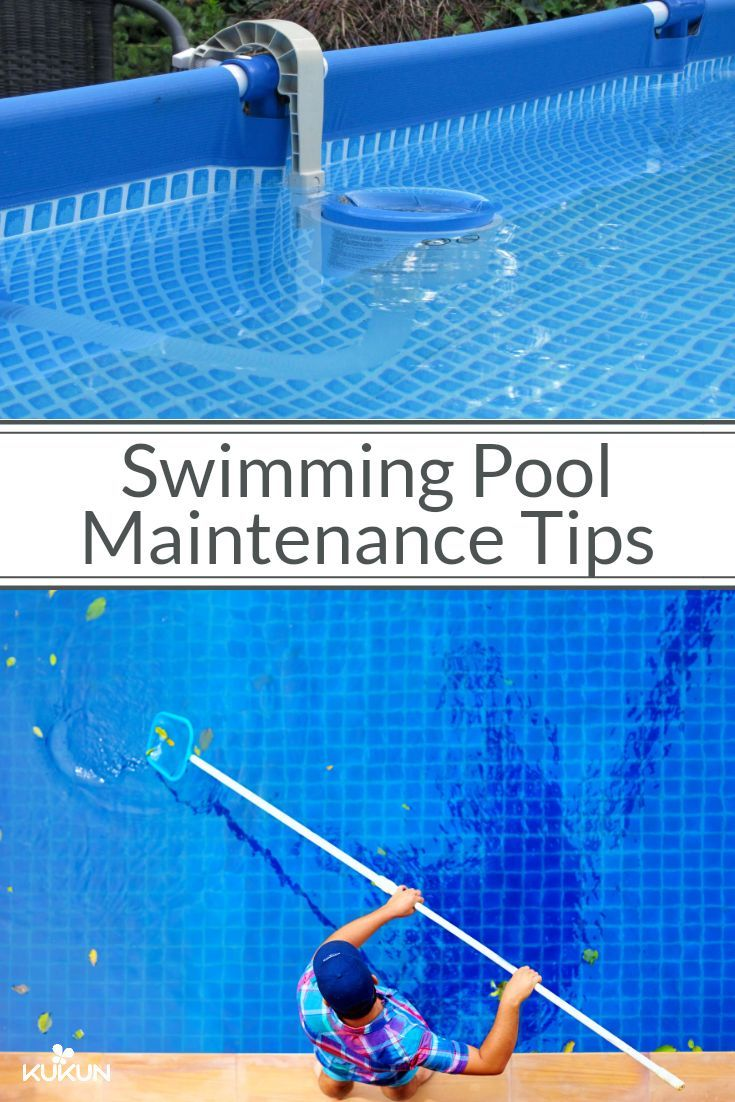 how to clean a pool liner