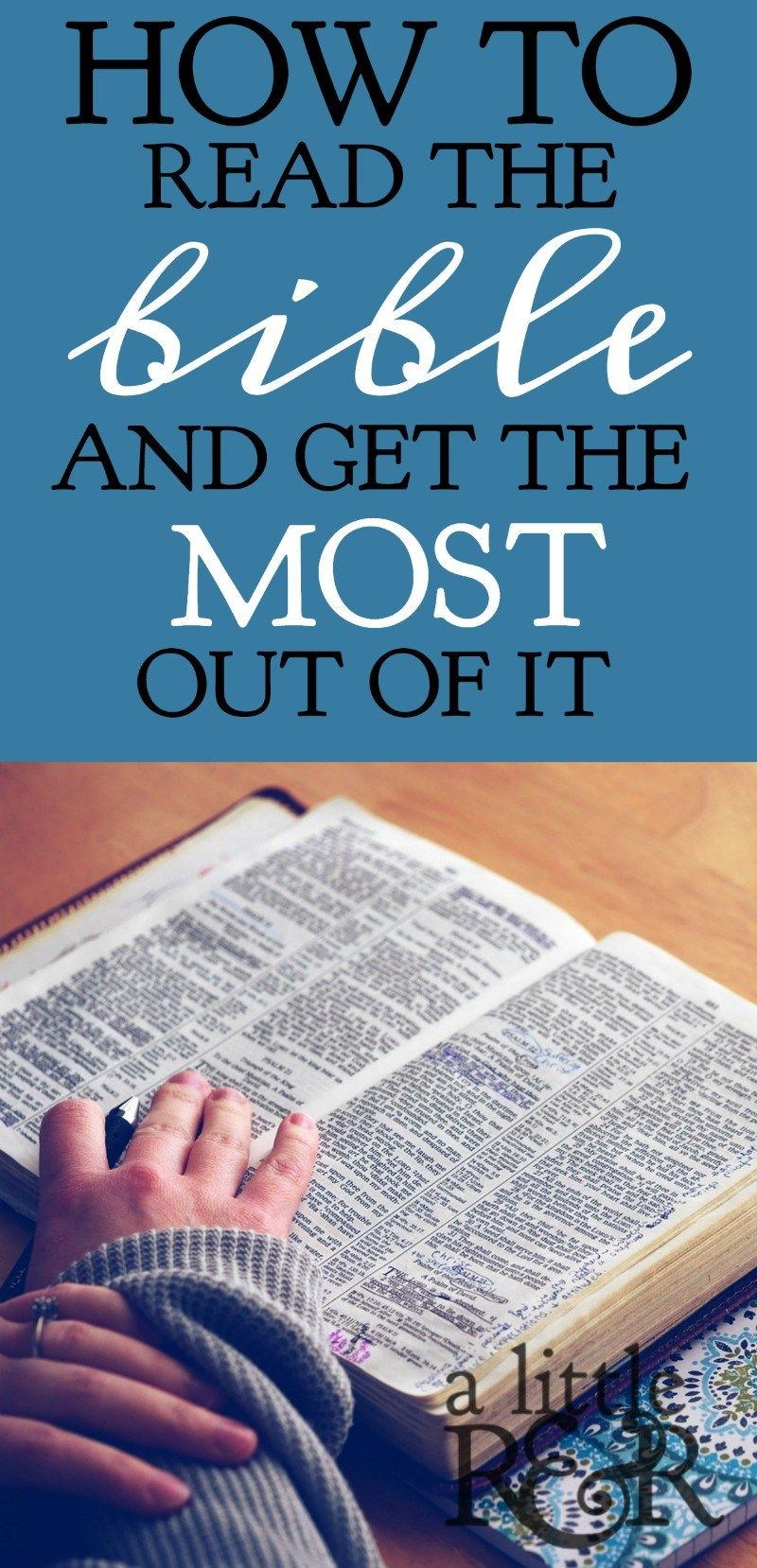 how to read the bible daily
