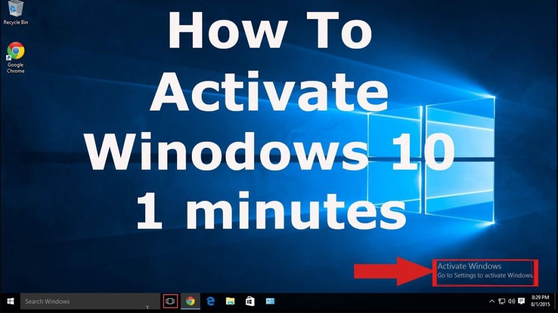 How to activate windows 10 in 1 minute activate windows
